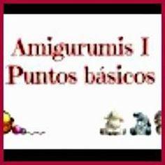 PUNTOS BÁSICOS AMIGURUMIS Amigurumi Tutorial, Doll Clothes, Knit Crochet, Knitting, Crocheting, Minions, Stitches, Origami, Cactus