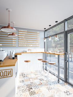 cafe restaurant Coffee and People cafe interior Coffee Bar Design, Coffee Shop Interior Design, Restaurant Interior Design, Modern Restaurant, Coffee Cafe Interior, Small Restaurant Design, Modern Cafe, Sketch Restaurant, Interior Shop