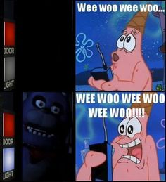 Patrick Plays Five Nights At Freddy's by JosephKotioTheCat.deviantart.com on @deviantART