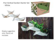 Prai Vertical Garden System Starter Kit - White