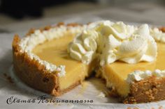 Mangojuustokakku | Elämää Koivurannassa Key Lime, Camembert Cheese, Cheesecake, Pie, Pudding, Baking, Desserts, Recipes, Food