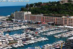 Formula 1 MotorHomes at Monaco 2013