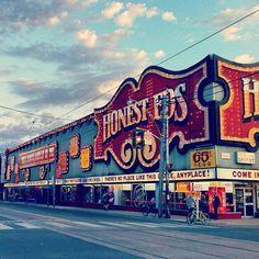 Honest Eds Toronto Ontario Canada. Toronto Ontario Canada, Toronto City, Canadian Things, Las Vegas, Nevada, Canadian Travel, Canada Eh, Canadian History, Destinations