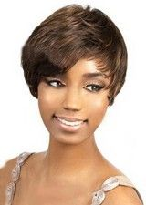 Modern 8Inch Straight Lace Front Human Hair Wig