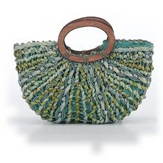 Pre-owned Coldwater Creek Tote: Teal Women's Bags (£37) ❤ liked on Polyvore featuring bags, handbags, tote bags, teal, tote bag purse, teal handbag, green tote handbag, preowned handbags and tote purses