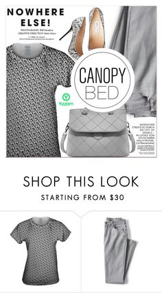 """Nowhere Else"" by lucky-1990 ❤ liked on Polyvore featuring Lands' End"