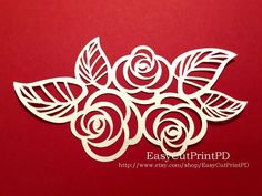 Flowers and leaves (eps, svg, dxf, ai) Vector Digital ClipArt Wall Decor Decal Vinyl Cutting File Silhouette Cameo EasyCutPrintPD Egg Designs, Paint Designs, Beaded Embroidery, Embroidery Patterns, Stained Glass Designs, Silhouette Art, Scroll Saw Patterns, Vinyl Cutting, Butterfly Print