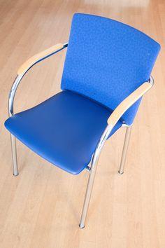 Herstofferen bezoekersstoel