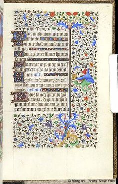 Book of Hours, MS M.453 fol. 126r - Images from Medieval and Renaissance Manuscripts - The Morgan Library & Museum