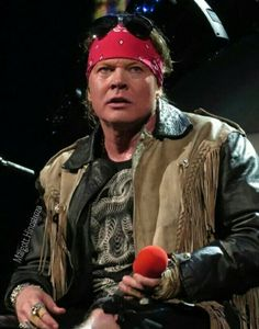 Axl Rose 2016  i've recently realized - after watching them this year - that fangirling axl since my early teens (1992-93) has shaped my taste in men for the rest of my life. lmao how crazy is that?