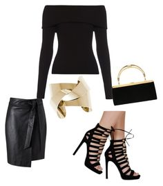 """""""Tap and Step It Up"""" by betzann on Polyvore featuring Miss Selfridge, A.L.C. and Balmain"""