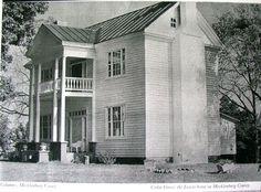1839 Greek Revival, Chase City, VA