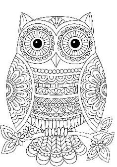 Mandala Owl Coloring Pages. 30 Mandala Owl Coloring Pages. Free Cute Owl Coloring Page Printable Adult Coloring Pages, Mandala Coloring Pages, Coloring Pages To Print, Coloring Book Pages, Free Coloring, Coloring Sheets, Notebook Doodles, Mandala Drawing, Color Activities
