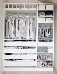 How to clean your closet tips