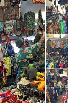 Bailey's Antiques & Aloha shirts store Honolulu, Hawaii