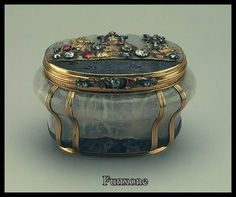 antique jewellery box [I find things like this are inspirational for altered art and ATC projects]