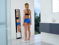 MEET THE NAKED 3D FITNESS TRACKER This New Scale Tracks Your Fitness in 3D Naked Labs  the world's first home body fitness scanner. It takes a 3D scan of your body and tracks weight and body fat.
