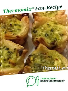 Recipe Lunchbox Spinach and Feta Tarts by ThermiLovin with Tam, learn to make this recipe easily in your kitchen machine and discover other Thermomix recipes in Baking - savoury. Tea Snacks, No Bake Snacks, Creamed Spinach, Spinach And Feta, Kitchen Machine, Recipe Community, Food N, Appetisers, Spanakopita
