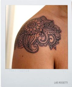 Paisley tattoo..this could very well be the start of a half sleeve for this girl!! :)