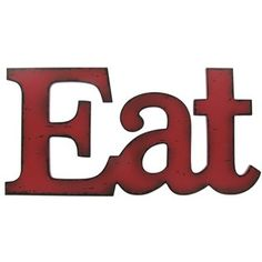 Red Eat Wall Plaque | Shop Hobby Lobby