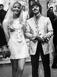 Ewa Aulin and Ringo Starr