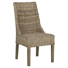 Whether pulled up to your bistro table or offering a stylish seat at your writing desk, this woven rattan arm chair lends a touch of natural appeal to your w...