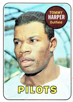 1969 Topps #42 Tommy Harper Front