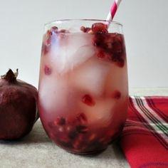 Holiday Pomegranate Mojito