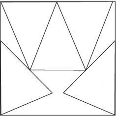 Paper Pennant Template using 12 x 12 scrapbook paper