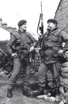 Royal Marines in Northern Ireland.