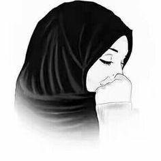 I am a muslimah and the hijab is my crown! Beautiful Muslim Women, Beautiful Hijab, Tattoo Girls, Girl Tattoos, Tattoo Girl Wallpaper, Hijab Drawing, Girly M, Islamic Cartoon, Hijab Cartoon