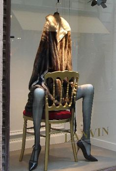 Window Visual Merchandising | VM | Window Display | I K I Lanvin