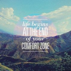 This couldn't be more true. Learn to step outside of your comfort zone and watch great things unfold. #fitnessinspiration #motivation