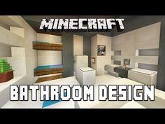 Minecraft Tutorial:  How To Build A Modern House  Ep.7  (Bathroom Furniture Design Ideas) - http://homeimprovementhelp.info/bathroom-renovations/minecraft-tutorial-how-to-build-a-modern-house-ep-7-bathroom-furniture-design-ideas/
