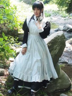 Maid Cosplay, Cosplay Dress, Cosplay Girls, Victorian Maid, Boys Dress Clothes, French Maid Dress, Maid Uniform, Maid Outfit, Pretty Females