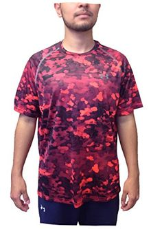 Men's Clothing Sensible Mens Small Long Sleeve Orange Under Armour Shirt Crazy Price