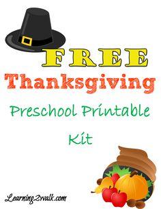 Thanksgiving Prescho...