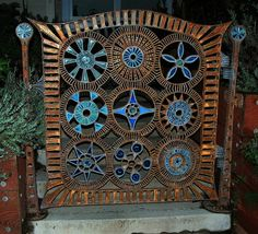 This beautiful garden gate from flickr.com