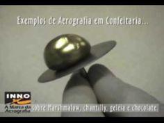 walter innocencio - curso Aerografia em Confeitaria - Airbrush in confec...