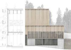 Aeby Aumann Emery architectes · RÉALISATION D'UNE HALLE DE FORMATION À MACOLIN