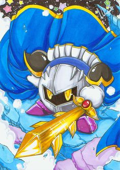 Fighting Meta Knight Colours by AgentHisui on DeviantArt