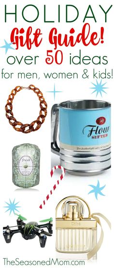 This Holiday Gift Guide has over 50 perfect gift ideas for everyone on your list! Happy shopping!