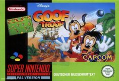 Goof Troop plays like The Legend of Zelda, if it only had dungeons. Rented it so many times over the weekends when I was younger. ♣ Tags: #nintendo #disney #boxart