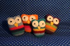 DIY crochet cute owls