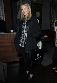 Net a Porter's Kim Hersov at the Madderson London SS14 RTW launch party
