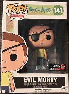FUNKO POP Rick & Morty Evil Morty Animation GAMESTOP EXCLUSIVE #141 FIGURINE #FUNKO
