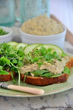 Vegan White Bean & Dill Spread #glutenfree