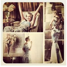 The Great Gatsby (2013) | Carey Mulligan (Daisy Buchanan) from the pages of US Vogue.