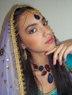 Makeup hindú #eyes #face  maquillaje natural