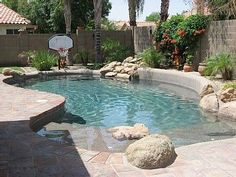 kid friendly pool for small backyard - Google Search